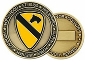 1st Cavalry Division Challenge Coin