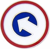 1st Logistic Command Pin