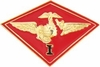 1st Marine Air Wing Pin