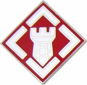 20th Engineer Brigade Pin