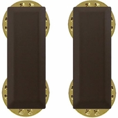 2nd Lieutenant Officer Rank Insignia Subdued (Pair)