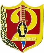 2nd Marine Regiment Pin