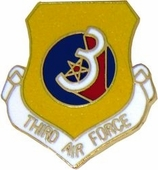 3rd Air Force Pin