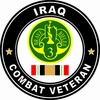3rd Armored Cavalry Regiment Iraqi Freedom Combat Veteran Decal