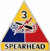3rd Armored Division Pin