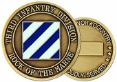 3rd Infantry Division Challenge Coin
