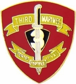 3rd Marine Regiment Pin