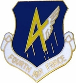 4th Air Force Pin