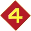 4th Marine Division Pin