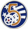 5th Air Force Pin