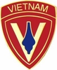5th Marine Division Vietnam Pin