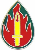 63rd Infantry Division Pin