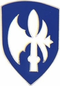65th Infantry Division Pin