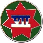 7th Corps Pin