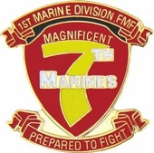 7th Marine Regiment Pin