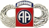 82nd Airborne Division Wings Pin