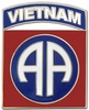 82nd Airborne Vietnam Pin