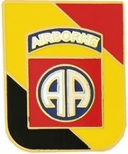 82nd Airborne WWII Pin