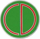 85th Infantry Division Pin