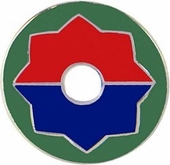 9th Infantry Division Pin