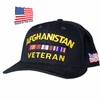 Afghanistan Veteran Bar Made In USA Hat