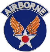 Air Force Airborne Pin