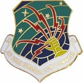 Air Force Communications Agency Pin