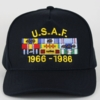 Air Force Custom Cap - Text & Ribbons