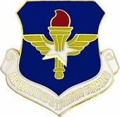Air Force Eduacation & Training Command Pin