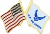 Air Force Flags Pin (New)
