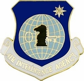 Air Force Intelligence Agency Pin