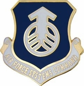 Air Force Systems Command Pin