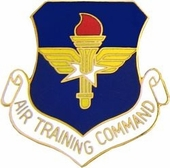 Air Force Training Command Pin