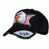 Out of Stock - AMERICAN EAGLE PATRIOTIC CAP - Black
