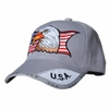 Out of Stock - AMERICAN EAGLE PATRIOTIC CAP - Grey