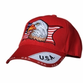 Out of Stock - AMERICAN EAGLE PATRIOTIC CAP - Red