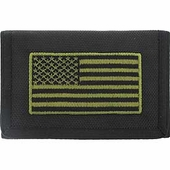 American Flag Subdued Wallet