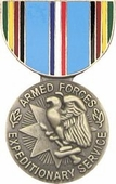 Armed Forces Expeditionary Medal Pin