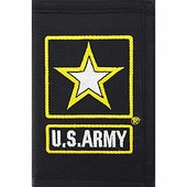 Army Star Logo Wallet