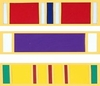 Official Military Award and Decoration Lapel Pins