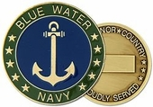 Blue Water Navy Challenge Coin - OUT OF STOCK