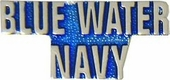 Blue Water Navy pin