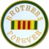 Brothers Forever Pin