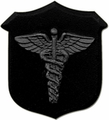 Corpsman Black Pin