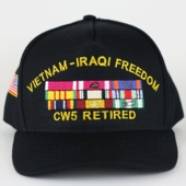 Army Hats with Custom Ribbons
