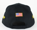 Custom Navy Baseball Hat with Ribbons - up to 9