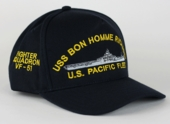 Navy Ships Cap with Custom Text