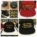 Custom Embroidered Veteran Hats with U.S. Marine Corps Service Ribbons