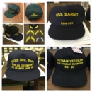 Custom Veteran Baseball Hat - Text Only