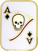 Death Card Pin